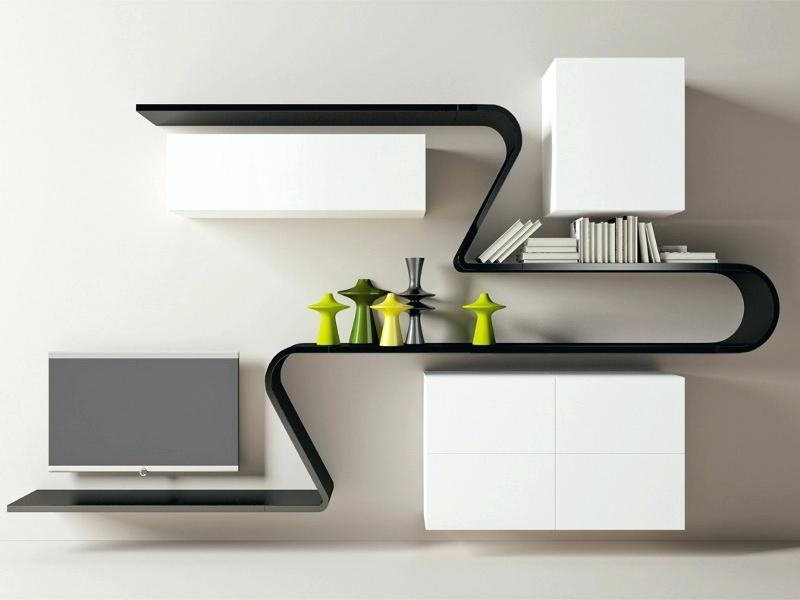 funky wall shelf